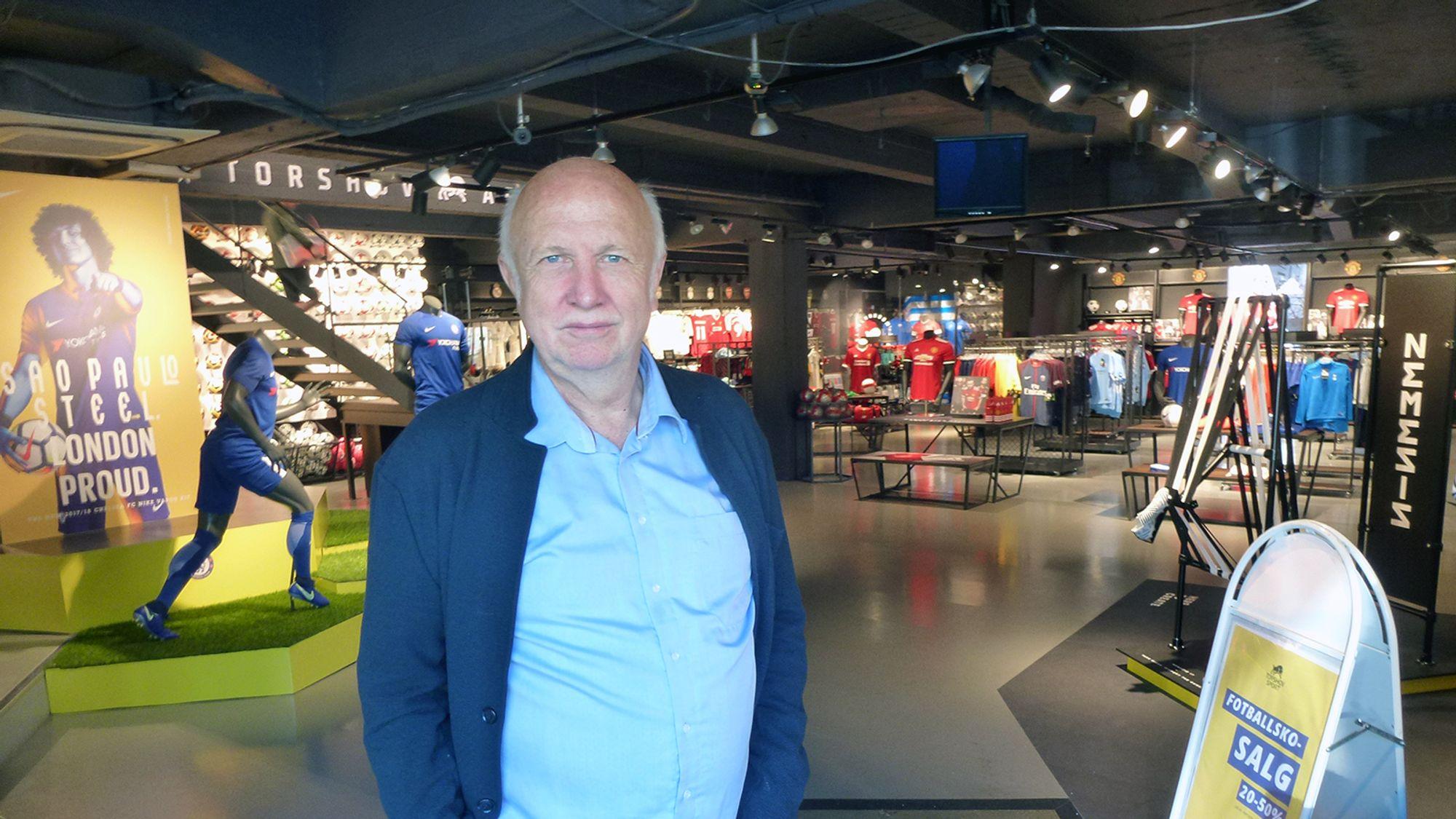 cd1a2fdf Terje Laurendz har levd et langt liv sammen med familiebedriften Torshov  Sport.