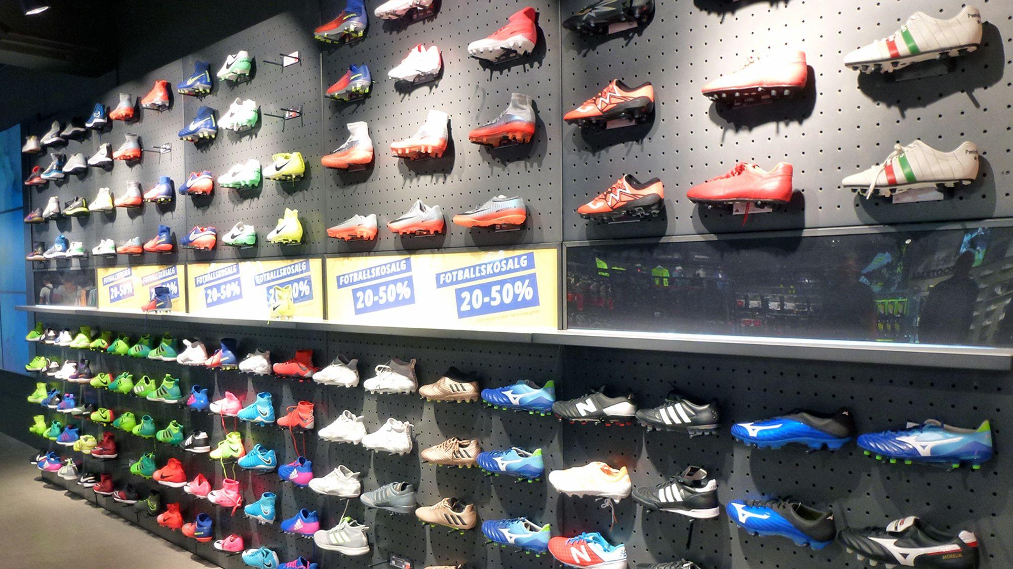 88f37d5f Verdens største fotballbutikk finner du på Torshov i Oslo - Ehandel.com