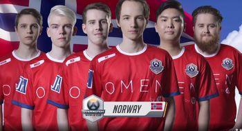 Norge ute av Overwatch-VM