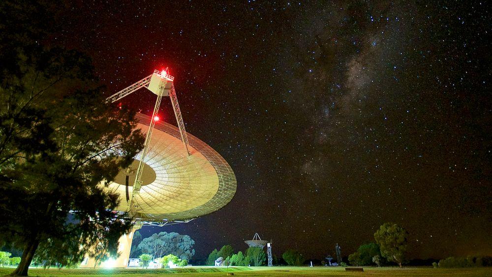 64 meter radioteleskop i Parkes, New South Wales, Australia, har vært brukt i SETI-prosjektet.