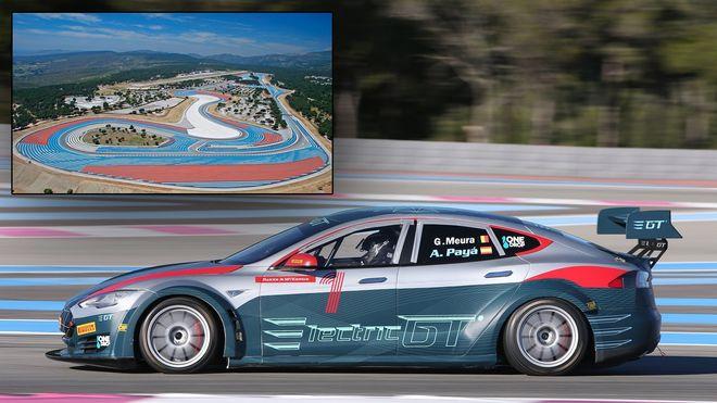 Den franske banen gjør Formel 1-comeback, men inviterer først til Tesla-racing