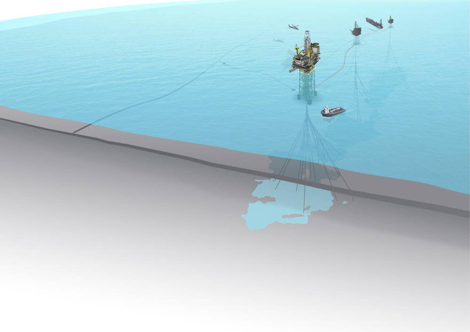 Tungoljefeltet Peregrino er blant Statoils satsinger i Brasil.