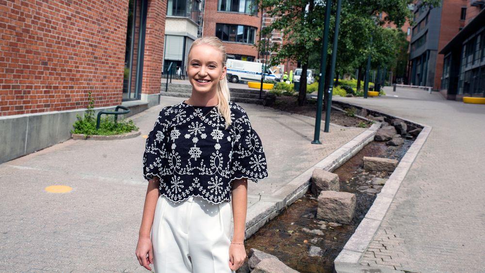Maren Ytterdal Krongsrud er en av 33 kvinner som har fått tilbud om å studere Anvendt datateknologi ved HiOA til høsten. 117 menn har fått det samme tilbudet.