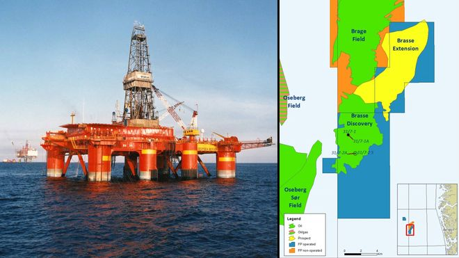 Fant mer olje i Brasse – nå planlegger oljemyggen å bygge ut feltet