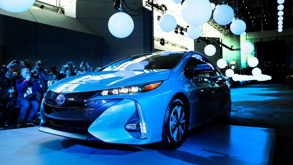 Toyota skal lansere en helt ny batteritype i starten av neste tiår. Her illustrert med en Toyoya Prius.