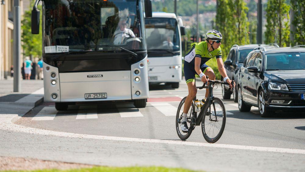 Dagens teknologi for selvkjørende biler sliter med å gjenkjenne syklister.