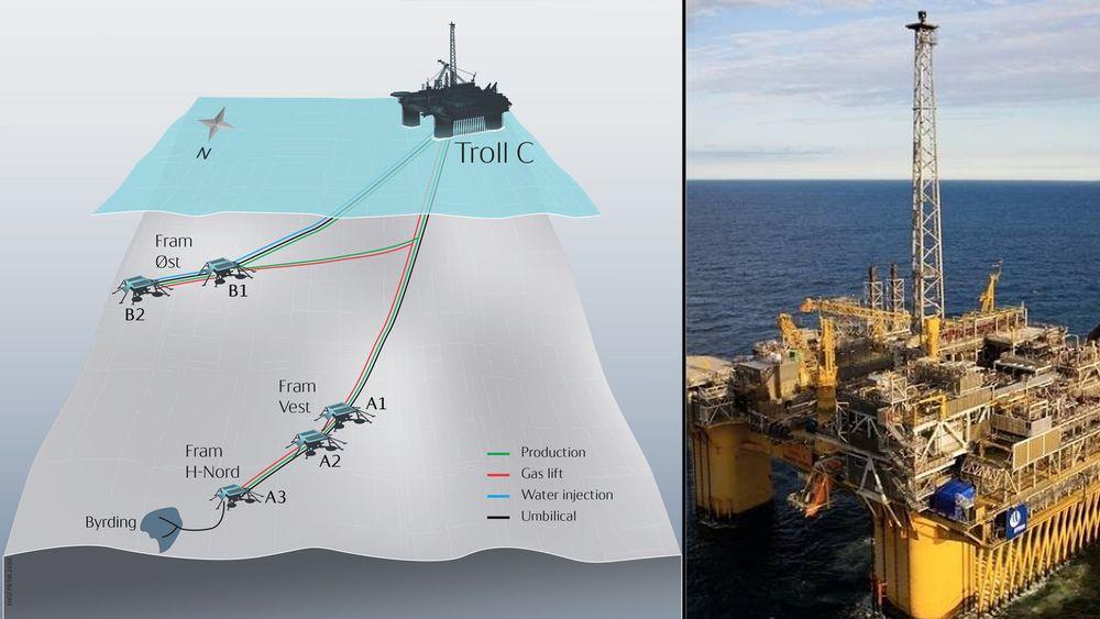 Byrding er et olje- og gassfelt nord for Troll-feltet i Nordsjøen, knyttet opp mot Trolls infrastruktur. Utvinnbare volumer er anslått til drøyt 11 millioner fat oljeekvivalenter.