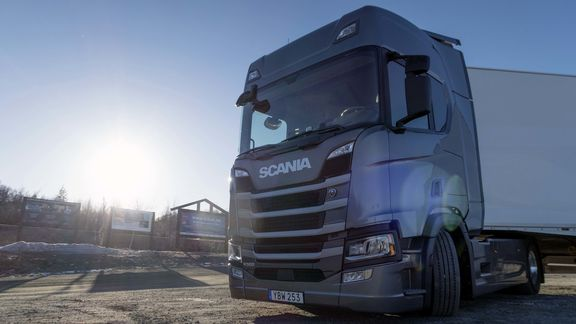 Opptur for Scania