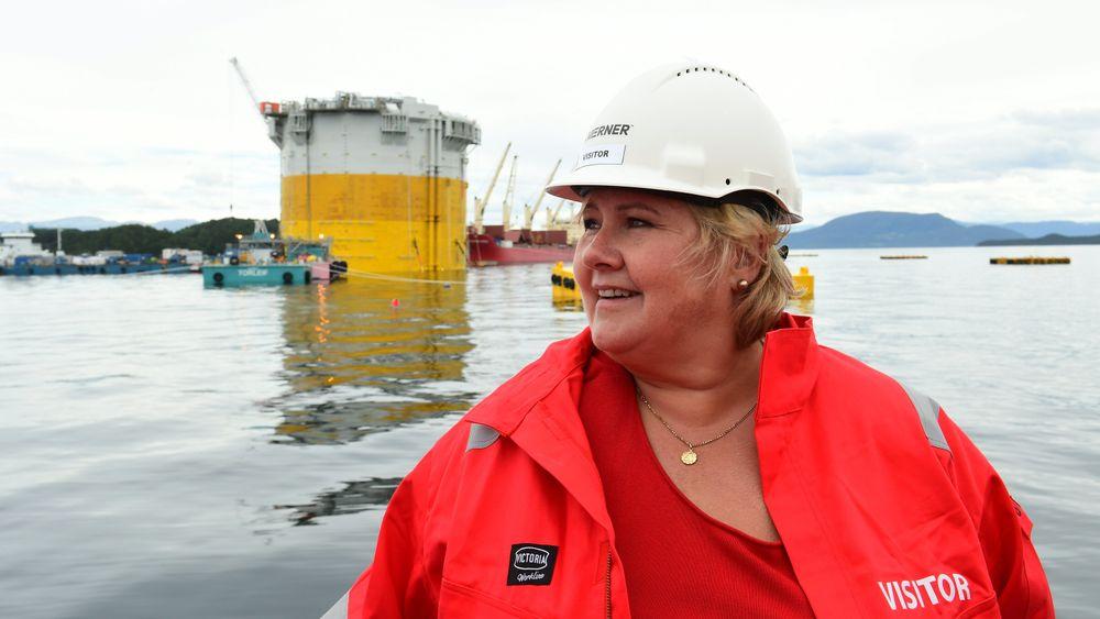 Høyre vil innføre krav om oljeutvinning ved utdeling av konsesjoner til nye leteområder.