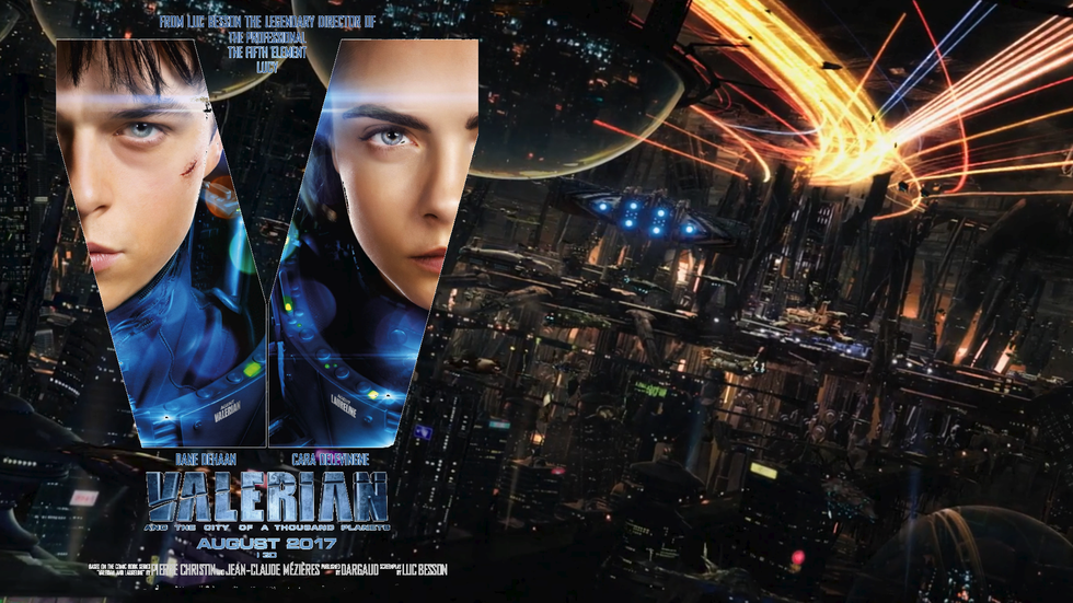 Kino: Valerian and the City of a Thousand Planets