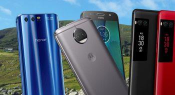 Nå kommer det haugevis av nye telefoner