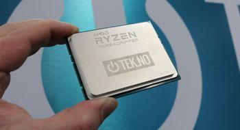 Vi har fått AMD Ryzen Threadripper i hus