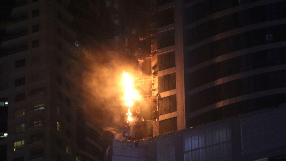 For andre gang på tre år brøt det ut storbrann i skyskraperen Torch Tower i Dubai, som er et av de høyeste bolighusene i verden.