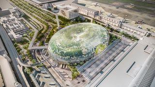 Singapores nye flyplassterminal minner mer om en botanisk hage enn en avgangshall