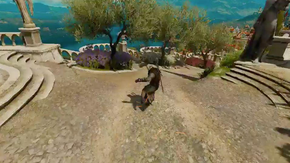 Hva om The Witcher 3 var et spinnvilt skateboardspill?