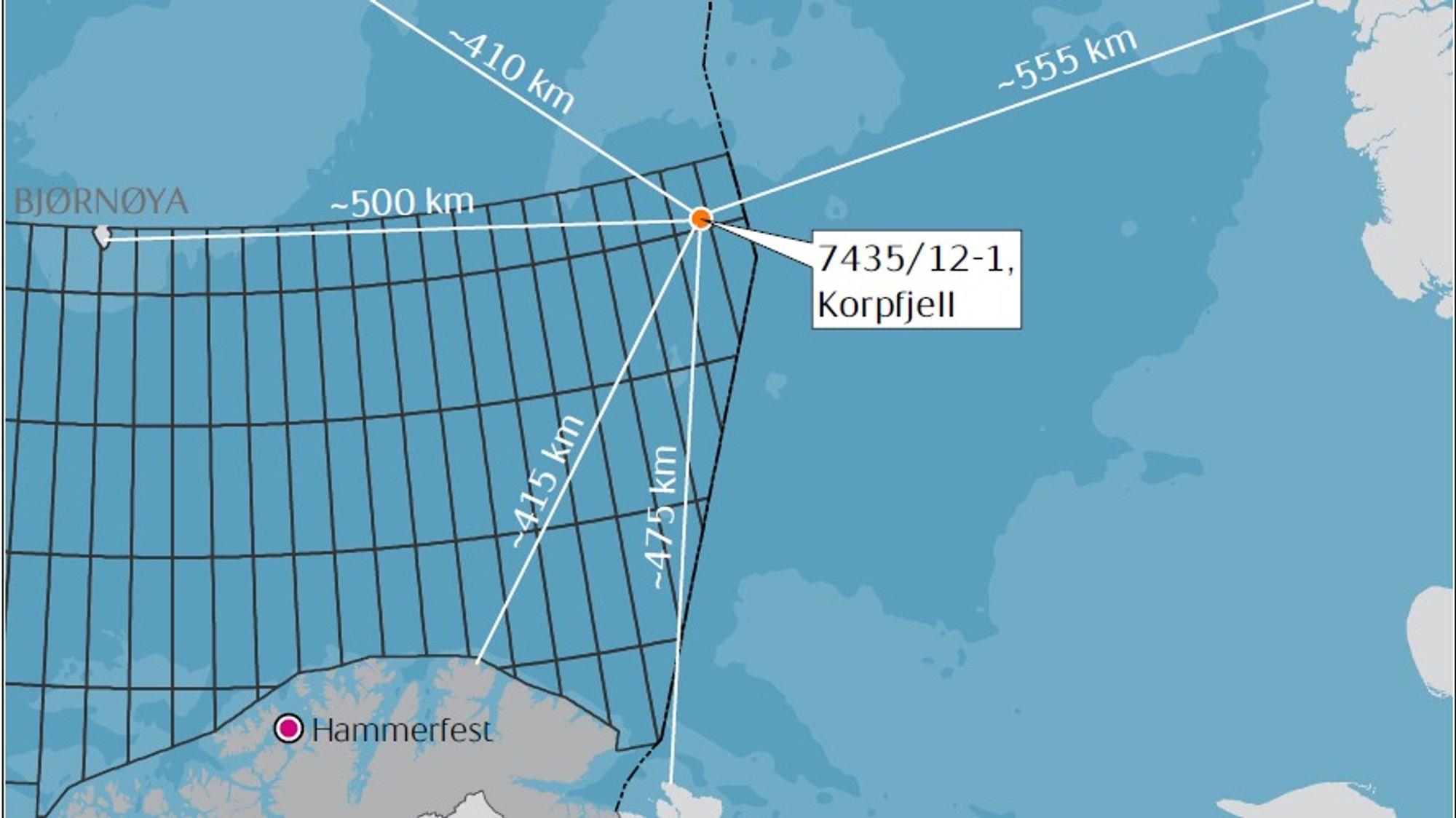 I konsekvensutredningen av Barentshavet sørøst ble brutto beregnet total produksjon (pr. 2050) doblet i forhold til tallene som egentlig lå til grunn.