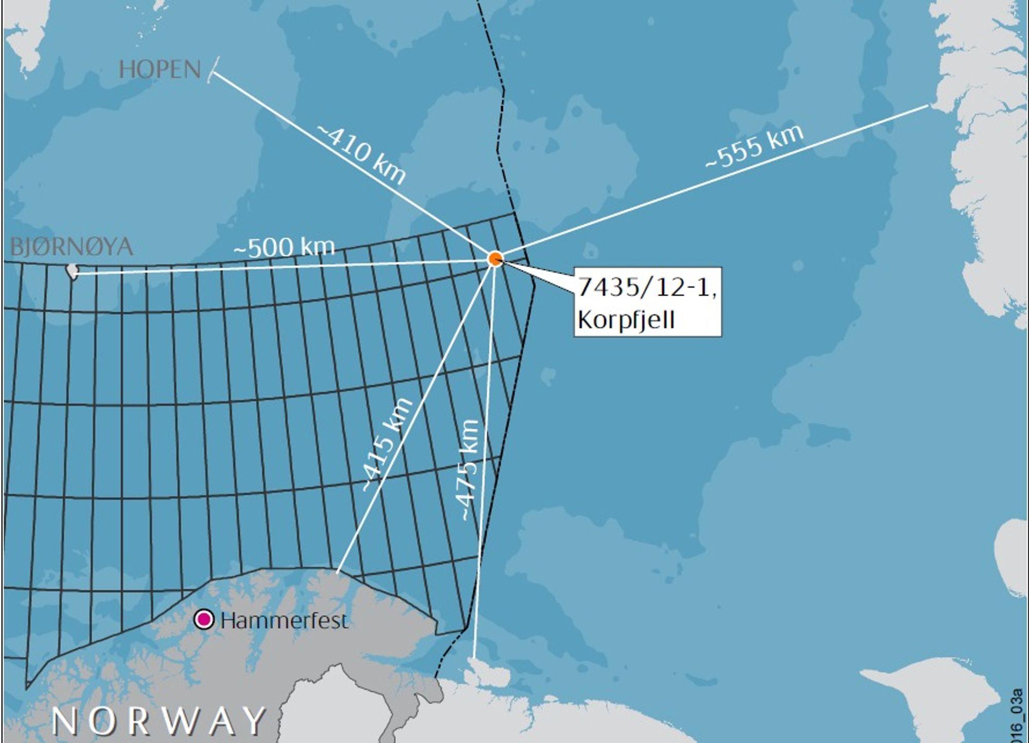 Statoil er skuffet over resultatet av Korpfjell-brønnen. Selskapet håpet på et større oljefunn, men gjorde kun et lite gassfunn, som det ikke vil være lønnsomt å bygge ut. Korpfjell var den første brønnen i Barentshavet Sørøst.