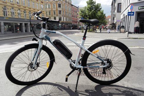 Sykkelen fra XXL er komfortabel, men motormessig litt for svak.