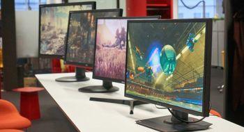 Billige spillskjermer