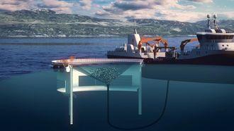 Midt-Norsk Havbruk har fått utviklingstillatelser for sitt konsept Aquatraz. Bilde:MNH