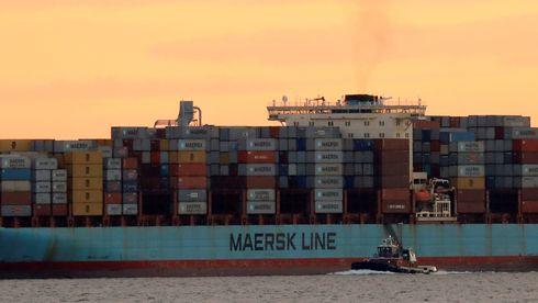Dataangrepet kan koste Maersk opptil to milliarder kroner