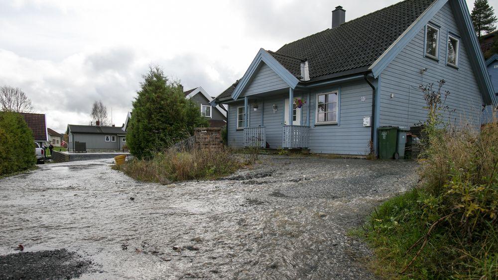 Vi kan forvente stadig våtere klima her i landet i årene fremover, ifølge Meteorologisk institutt . Det skaper utfordring for huseiere landet rundt.