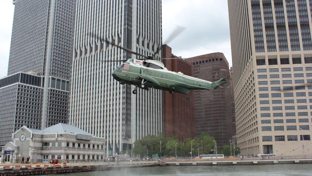 Sikorsky VH-3D har blitt brukt som presidenthelikopter siden 1970-tallet. I 2020 skal de ersattes med VH-92A.