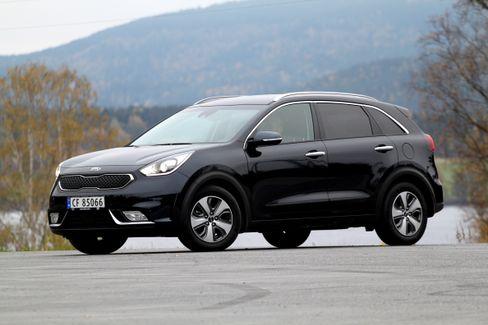 Kia Niro kan bli en populær ny elbilmodell i en relativt rimelig prisklasse. Dagens hybrid-Niro starter på cirka 270 000 kroner.