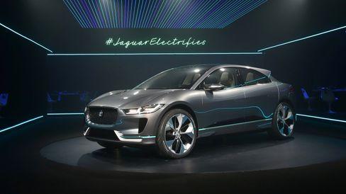 Jaguar viste først frem sin konseptmodell i-Pace i Los Angeles i november. Den er allerede reservert av 650 nordmenn.