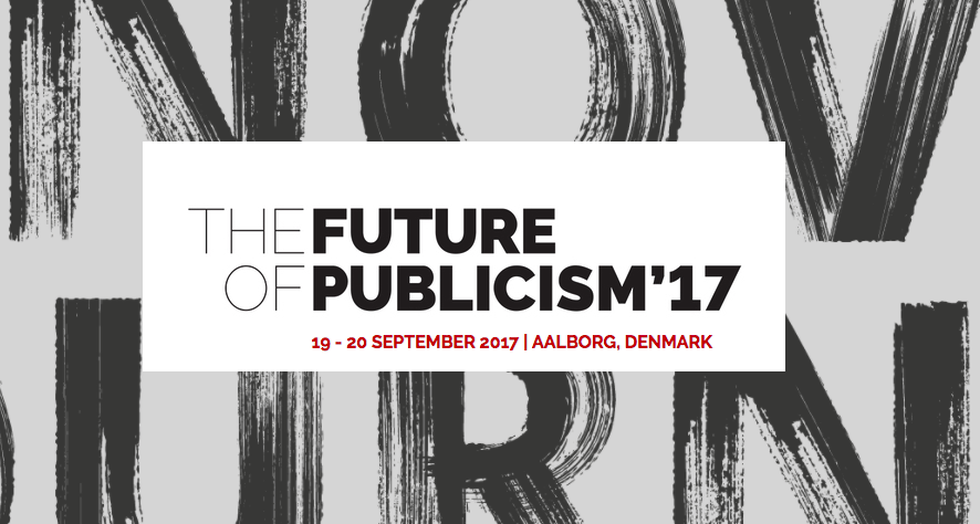 The Future of publicism conference - GRATIS