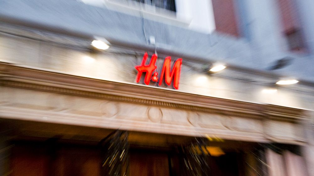 H&M's store at the Gran Vía in Madrid.