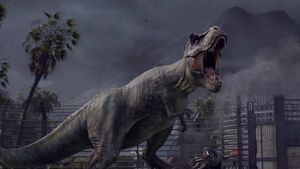 Bygg din egen dinosaurpark i Jurassic World Evolution
