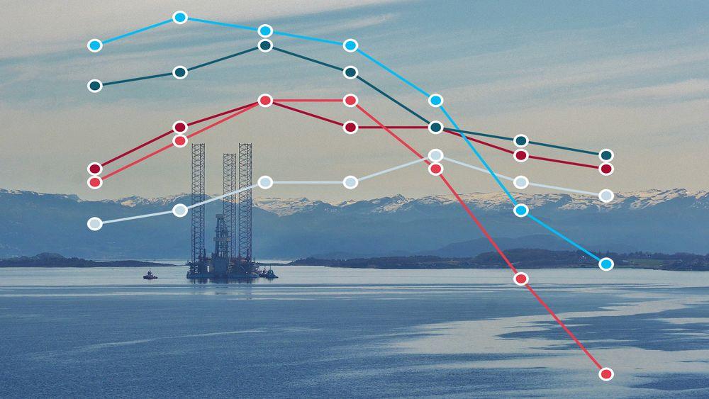 Ansatte i oljebransjen er mindre trygge i arbeidsforholdet og har færre alternative jobbmuligheter i dag enn før nedgangen i bransjen startet.