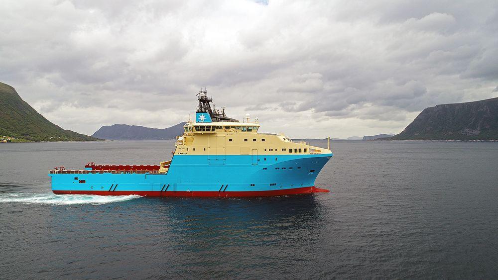 Maersk Mariner er det andre av  seks ankerhåndteringsskip som ble bestilt rett før offshorenedturen startet.