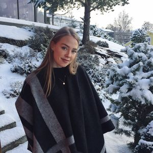 Mathilde Aamelfot Tveit, 2. års-student på master i bygg- og miljøteknikk.