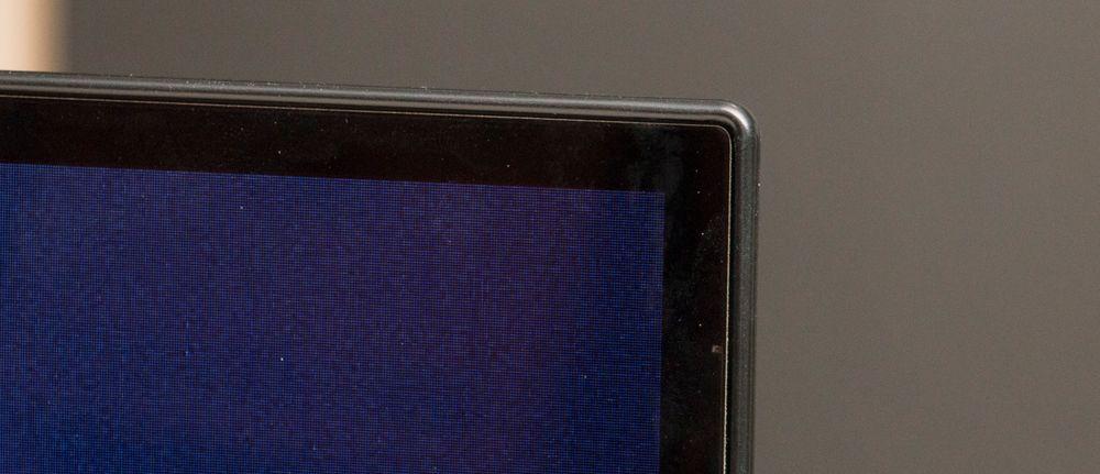 Rammene på en OLED blir oftest meget smale og nette