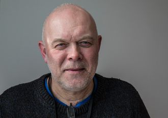 John Kristiansen har 37 år bak seg i politiet, 30 av dem på trykkeriet.