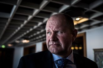 Rikspolitisjef i Sverige, Dan Eliasson.
