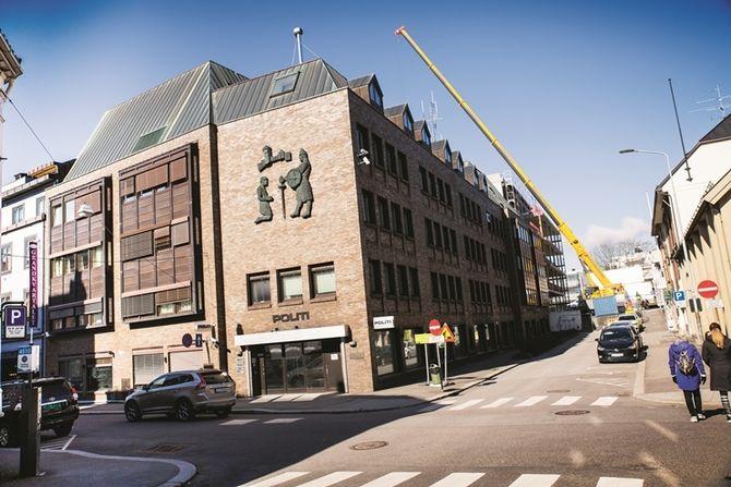 Politihuset i Tønsberg.