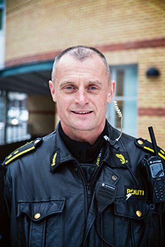 FORBEREDT: I forrige utgave av Politiforum fortalte innsatsleder Arne Guddal at de var forberedt på å møte flere gjerningspersoner på Utøya. ARKIV