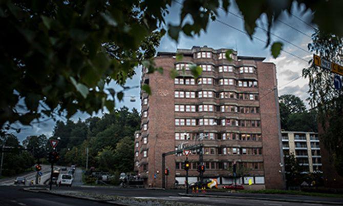 Politiets utlendingsenhet på Økern i Oslo har også egen døgnkontinuerlig drift.