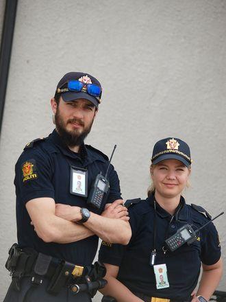 Karl Nordlie og Helle Nygård Haug.