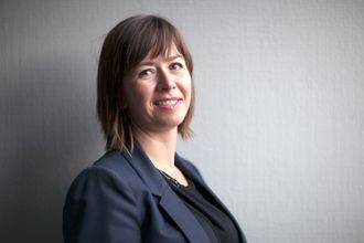 Administrerende direktør i IKT Norge, Heidi A. Austlid. PRESSEFOTO