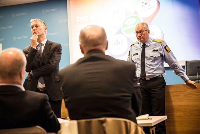 – Dere må ikke designe systemer i dag som ikke kommer til å være i bruk om fem år, var en av oppfordringene fra Peter Sondergaard til Odd Reidar Humlegård.