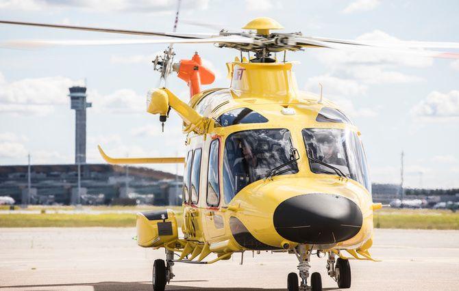 Nye AW169 vil bli politiets kommende helikopter.