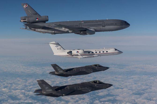 AN-1 og AN-2 krysset Atlanteren første gang i mai i fjor sammen med et av Nederlands to KDC-10-tankfly og ble møtt av et Gulfstream IV fra «Koninklijke Luchtmacht».