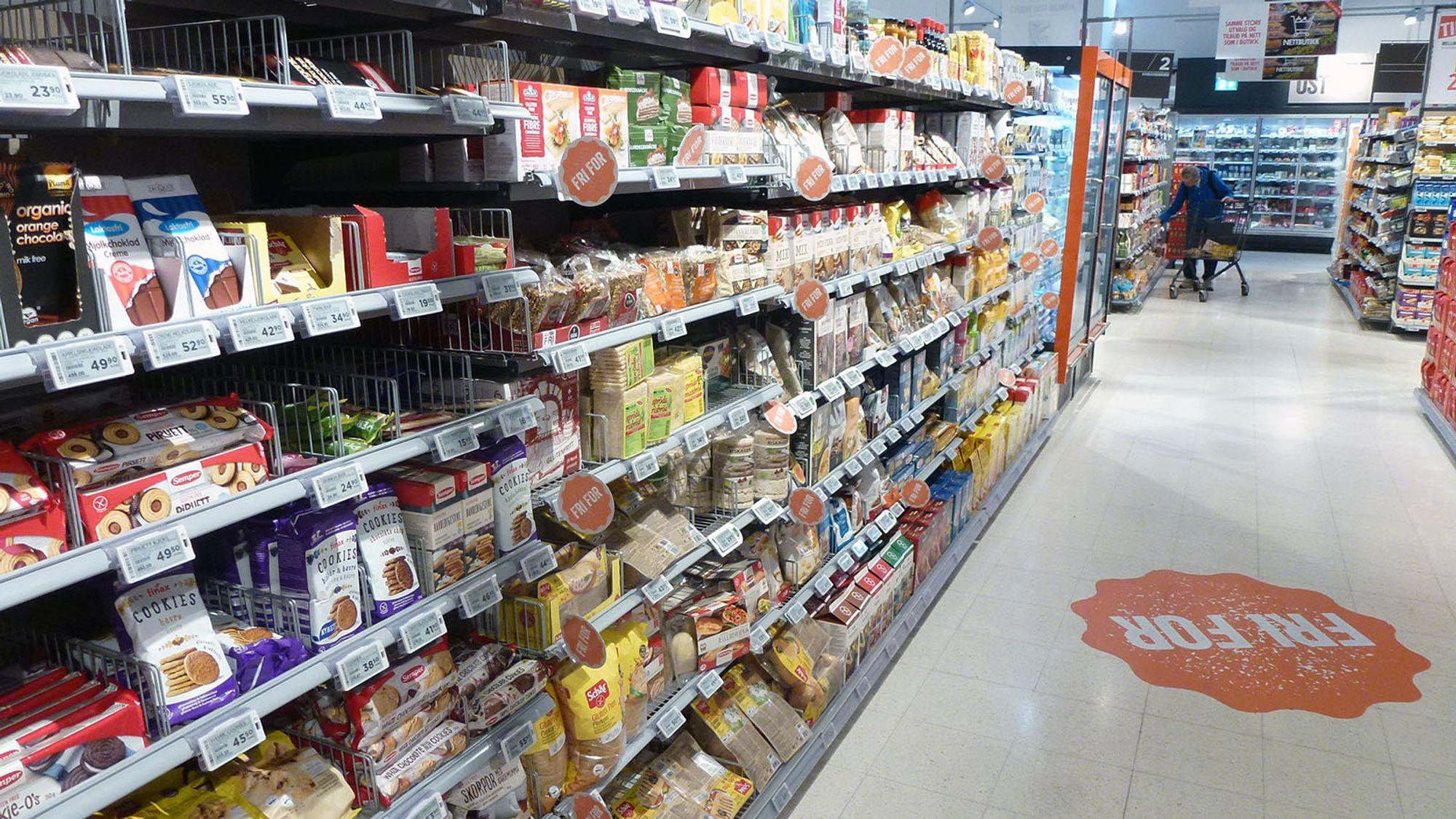 5a767155 Utvalget for de med en eller annen form for matintoleranse er omfattende  hos Meny. Der andre kjeder kan tilby relativt få glutenfrie produkter, ...