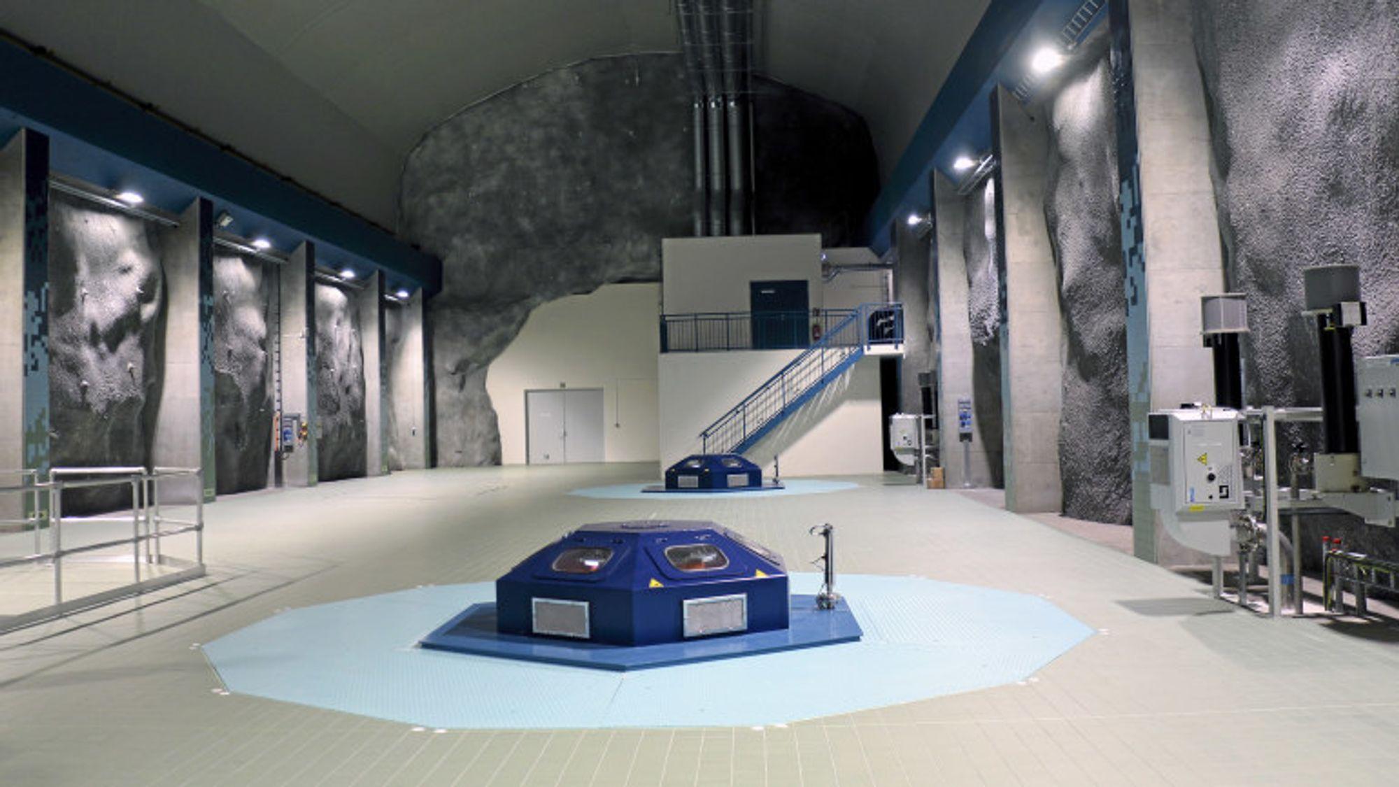 Matre Haugsdal kraftverk ble åpnet september 2016 og er det nyeste kraftverket til BKK.