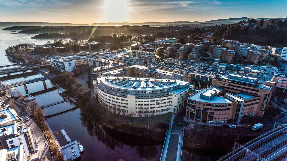 Norconsult hovedkontor i Sandvika. Selskapet er landets største innenfor rådgivende ingeniørtjenester.