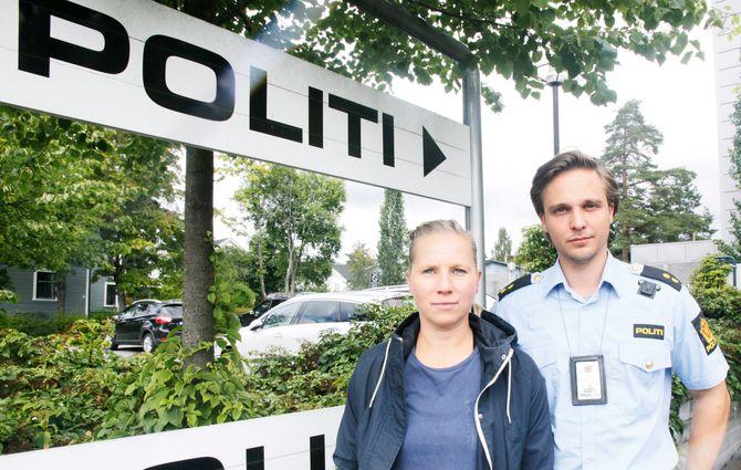 BLIR HØRT: Kongsvinger politistasjon har lenge etterlyst økt satsing på bekjempelse av grensekriminalitet. Mvh. Hovedtillitsvalgt, Jetmund Fure og  varatillitsvalgt, Veronika Amble Nærum er svært fornøyde med at det nå kommer på plass et nytt tjenestested på riksgrensen.